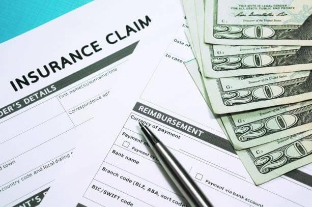 Insurance claim document